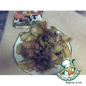 Окорочка с картошечкой
