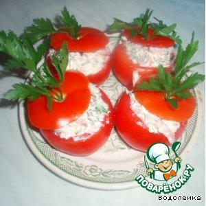 Закуска в помидорах