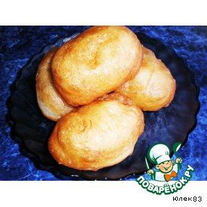 Пирожки с картошкой жареные во фритюре