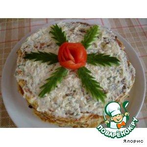 """Кабачковый торт """"Июльский"""""""