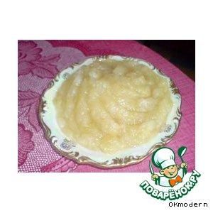Ароматное яблочное пюре за 10 минут