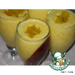 Абрикосово-персиковый мусс