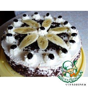 """Бисквитный торт """"Банана сплит"""""""