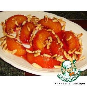 """Персики в карамели """"Жильбер"""""""