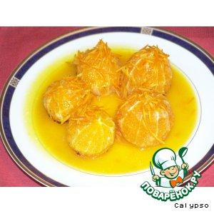 Апельсины фламбе (Orange Flambe)