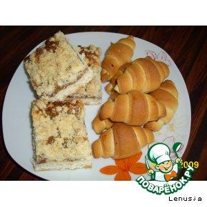 Пирог и рогалики