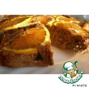 Кофейный пирог с апельсинами