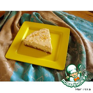 Лeгкий лимонный чизкейк