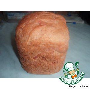 Свекольный хлебушек (для хлебопечки)