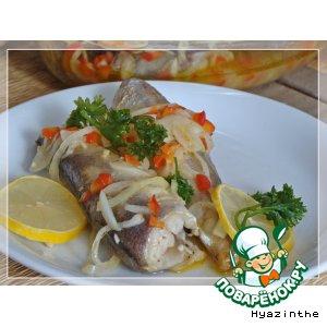 Рыба в маринаде по-средиземноморски