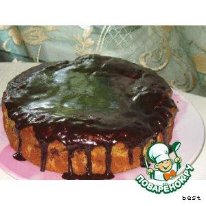 Ароматный медово-мандариновый тортик