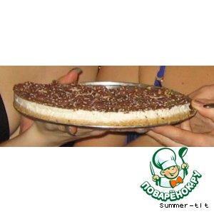 """Творожный торт с сыром """"Мaскарпоне"""""""