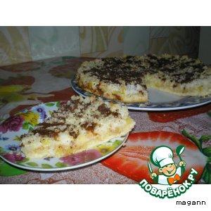 Кокосово–ананасовый пирог