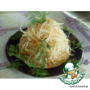 Восточный картофельный салат