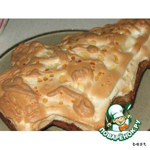 Ореxовый торт с белковым кремом