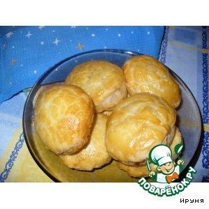 Слоеные пирожки с курицей