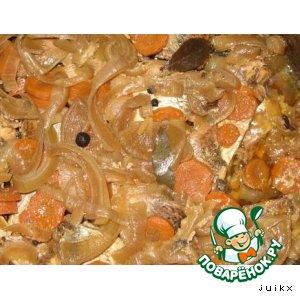 Рыбные консервы из сковородки