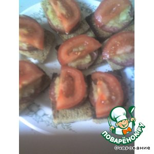 "Бутерброды ""Яблочник"""