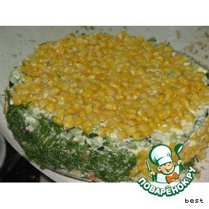 """Овощной торт """"Лето"""""""