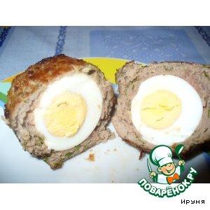 """Котлеты """"Яйца по-шотландски"""""""