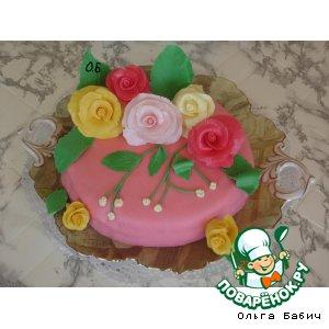 """Торт """"Для вас, любимых"""""""