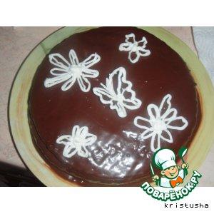 """Торт  """"Вишня в коньяке"""""""