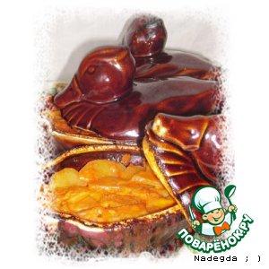 Овощное ассорти в горшочках