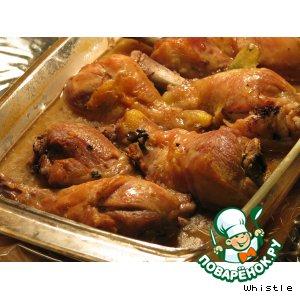 Курица по-французки