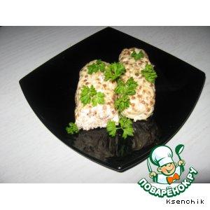 Колбаски гречнево-куриные