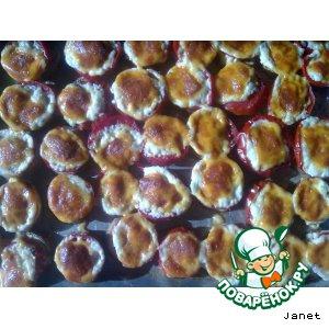 Баклажаны с помидорами и сыром запечeные