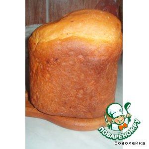 Хлеб с сушеными помидорами, сыром и шафраном