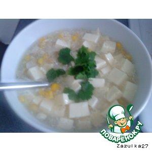 Кукурузный суп по-китайски