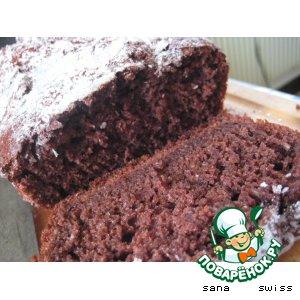 Кокосово-шоколадный кекс