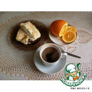 Кофе с мятой и апельсиновой цедрой