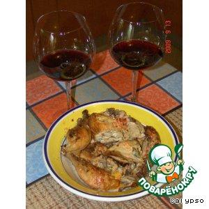 Цыпленок гриль - Frango no Churrasco