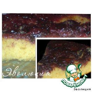 Пирог-перевeртыш с тeрном