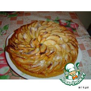 Яблочный пирог с антоновкой