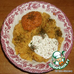 Толчeный картофель в индийском стиле