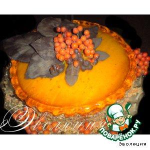 Торт «Шоколадный гербарий»