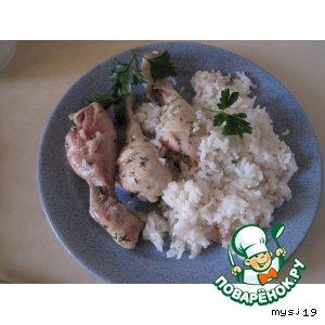 Курица с рисом « Питерская »