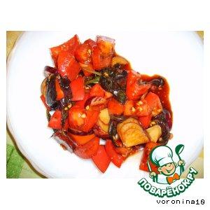 Салат китайский из помидоров