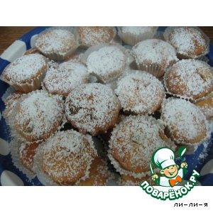 Мини-кексы с изюмом