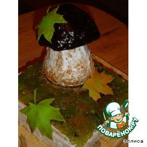 """Торт  """"Осень.... грибная пора, школьная пора... """""""