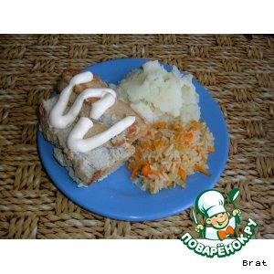 Суфле рыбное диетическое