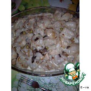 Пельмени, запеченные с грибами в любимом соусе «Изысканные»