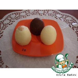 """Десерт """"Шоколадные яйца """""""