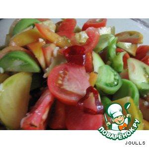 Салат из зеленых (недозрелых) помидор