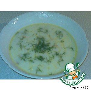 """Нежный """"сырно-грибной"""" суп"""