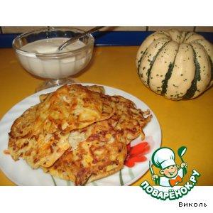 Тыквенно-картофельные оладушки