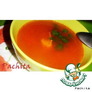 """Венгерский рыбный суп """"Халасле"""""""